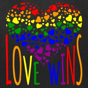 Love Wins Equality Tees Bags & backpacks - Tote Bag