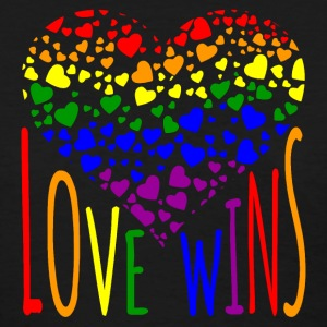 Love Wins Equality Tees Women's T-Shirts - Women's T-Shirt
