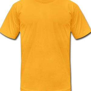 Inner Beauty/Overrated - Men's T-Shirt by American Apparel
