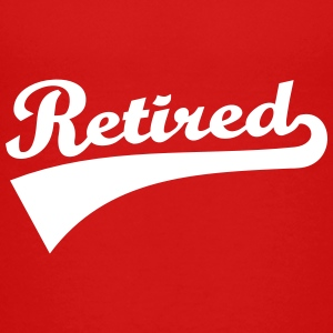 Retired Kids' Shirts - Kids' Premium T-Shirt