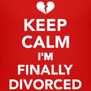 Keep calm I'm finally divorced Kids' Shirts - Kids' Premium T-Shirt