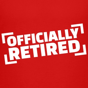 Officially retired Kids' Shirts - Kids' Premium T-Shirt