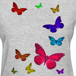 Butterflies Left - Women's T-Shirt