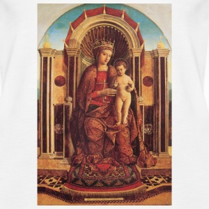 Madonna and Baby Jesus - Women's Premium Tank Top
