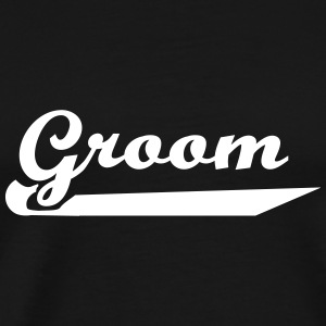 groom_22 T-Shirts - Men's Premium T-Shirt