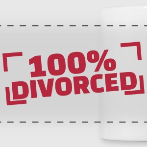 100% divorced Accessories - Panoramic Mug