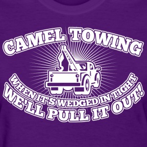 Camel Towing When Its Wedged In The Tight - Women's T-Shirt