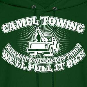 Camel Towing When Its Wedged In The Tight - Men's Hoodie