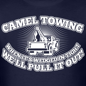 Camel Towing When Its Wedged In The Tight - Men's T-Shirt