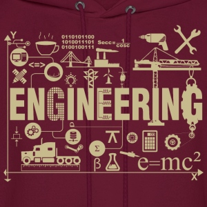 Engineering - Men's Hoodie