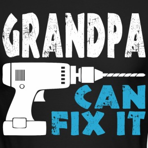 Grandpa Can Fix It - Men's Long Sleeve T-Shirt by Next Level