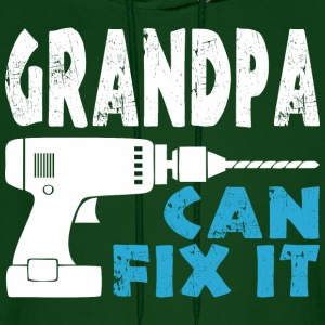 Grandpa Can Fix It - Men's Hoodie