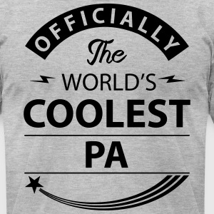 Worlds Coolest pa T-Shirts - Men's T-Shirt by American Apparel
