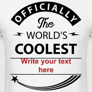 official the coolest  T-Shirts - Men's T-Shirt