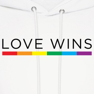 Love Wins Hoodies - Men's Hoodie