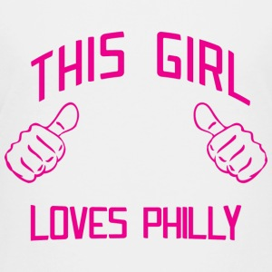 Cute This Girl Loves Philly Philadelphia Kids' Shirts - Kids' Premium T-Shirt