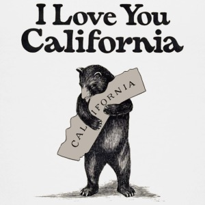 I Love You California Bear State Hug Baby & Toddler Shirts - Toddler Premium T-Shirt