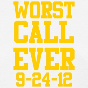 Packers Worst Football Call Ever Women's T-Shirts - Women's T-Shirt