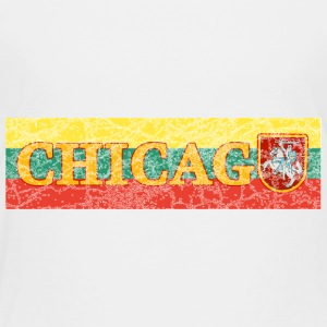 Chicago Lithuanian Lithuania Love Flag  Baby & Toddler Shirts - Toddler Premium T-Shirt