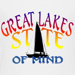 Great Lakes State of Mind Kids' Shirts - Kids' Premium T-Shirt