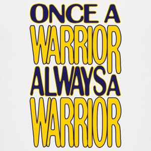Classic Once a Warrior Marquette Kids' Shirts - Kids' Premium T-Shirt