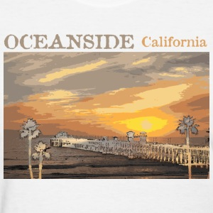 Oceanside California Cali Socal  Women's T-Shirts - Women's T-Shirt