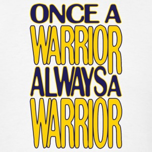 Classic Once a Warrior Marquette T-Shirts - Men's T-Shirt