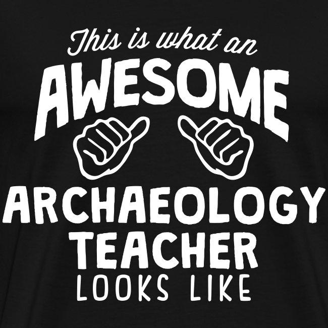 Archaeology Teacher