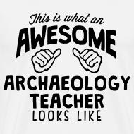 Design ~ Archaeology Teacher