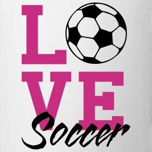 Love Soccer Mugs & Drinkware - Coffee/Tea Mug