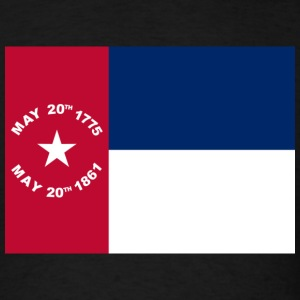 North Carolina Civil War Flag Shirt - Men's T-Shirt