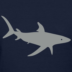 Shark Silhouette - Women's T-Shirt