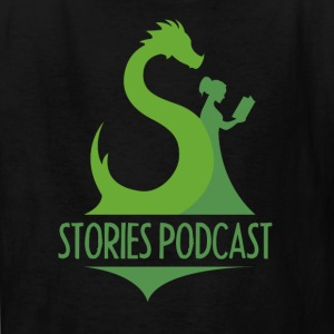 Stories Podcast Logo T-Shirt  - Kids' T-Shirt