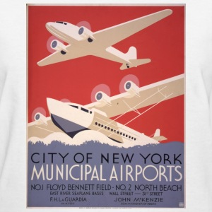 New York Mun. Airport Women's T-Shirts - Women's T-Shirt