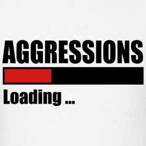 Aggressions - Men's T-Shirt