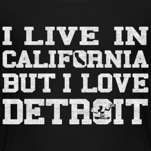 Live California Love Detroit Michigan Kids' Shirts - Kids' Premium T-Shirt