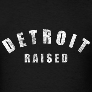 Detroit Raised Michigan Love T-Shirts - Men's T-Shirt