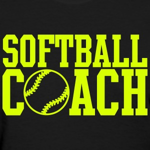 Softball Coach Women's T-Shirts - Women's T-Shirt