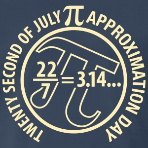 Pi Approximation Day - Men's Premium T-Shirt