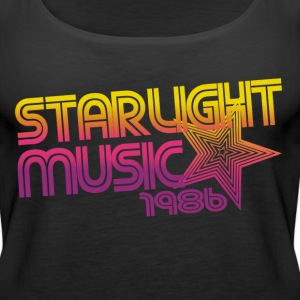 retro 80s girl - Women's Premium Tank Top