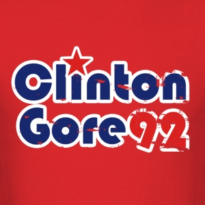 Clinton Gore 1992 - Men's T-Shirt