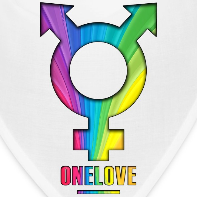 ONELOVE RAINBOW MALE - front print - one size