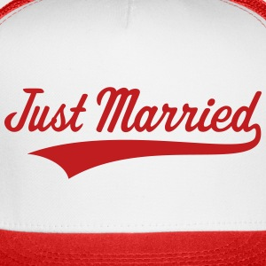 Just Married (Marriage / Wedding) Caps - Trucker Cap