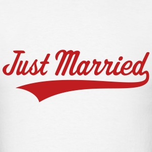 Just Married (Marriage / Wedding) T-Shirts - Men's T-Shirt