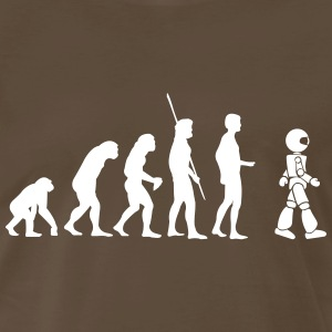 Evolution robot Shirt - Men's Premium T-Shirt