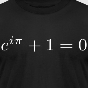 Euler's Identity 1 T-Shirts - Men's T-Shirt by American Apparel