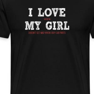 I love my girl - Men's Premium T-Shirt