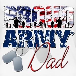 Proud Army Dad Women's T-Shirts - Women's Premium T-Shirt