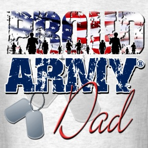 Proud Army Dad T-Shirts - Men's T-Shirt