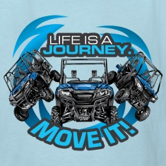 UTV SxS Move It Yamaha Kids' Shirts